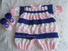 More of my baby knits