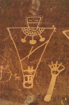 Petroglyph Southwest Native American?