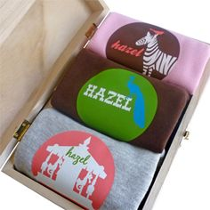personalized baby stuff (i mostly like the designs & the tin)