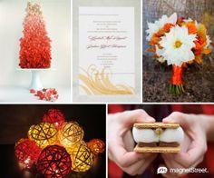 Hunger Games Wedding Inspiration - Catching Fire