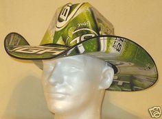 Beer Box Cowboy Hat Making Service *FREE BUD LIGHT LIME BOXES* NASCAR Stetson | eBay