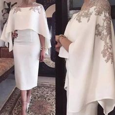 2018 Mermaid Mother Of The Bride Dresses Jewel Neck Gray Lace Appliques Beaded With Wrap Short Tea Length Party Evening Wedding Guest Gowns Evening Dresses Plus Size, Formal Evening Dresses, Evening Gowns, Prom Dresses, Bride Dresses, Dress Formal, Dress Long, Evening Party, Formal Wear