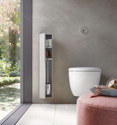 Emco Bad, Bathroom Design Luxury, Vanity Units, Washroom, Cubbies, Home Deco, Minimalism, Bathtub, Contemporary