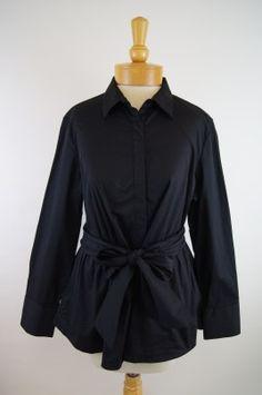 Ravel Tie Blouse - Black