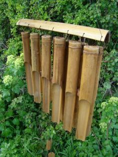 large bamboo wind chimes - Google Search