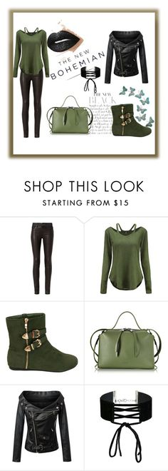 """""""Fashion #7"""" by priluskiclejlaa ❤ liked on Polyvore featuring rag & bone, Jil Sander, Chicnova Fashion, Miss Selfridge and American Eagle Outfitters"""