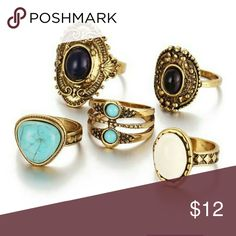 Bohemian Rings Available on www.hottfashionstyles.com or Dm me. Contact email: Hottfashionstyles@gmail.com. Paypal is available. Jewelry Rings