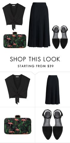 """""""Untitled #3762"""" by michelanna ❤ liked on Polyvore featuring Alice + Olivia, Canvas by Lands' End, polyvoreeditorial and michelanna"""