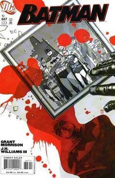 ESMIUÇANDO A CULTURA NERD: Grant Morrison e Batman, uma história que não deu certo... para mim.