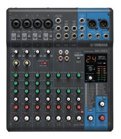 Yamaha Mg10xu 10-Input Stereo Mixer With Effects, 2015 Amazon Top Rated Mixers #MusicalInstruments