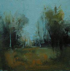 Goodness. 10X10 Original tonalist landscape oil by TimberTrailArts