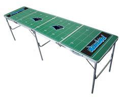 Carolina Panthers Beer Pong Table Tailgating