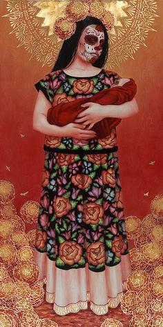 """""""Madre y Niño"""" - Sylvia Ji."""