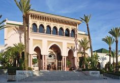 Seven-night holiday at a five-star beach resort, including breakfast, flights, transfers and a complimentary hammam
