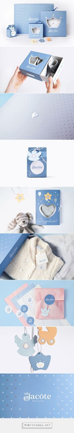 Jacote Kids & Gifts - Packaging of the World - Creative Package Design Gallery - http://www.packagingoftheworld.com/2016/06/jacote-kids-gifts.html
