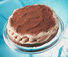 'Tiramisu-Torte mit Löffelbiskuit'