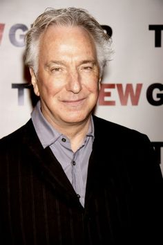 "Feb 27, 2012 - Alan Rickman attending the ""New Group Gala 2012 - Cabaret Soiree"" - Edison Ballroom."