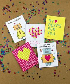Printable Kids' Valentines -