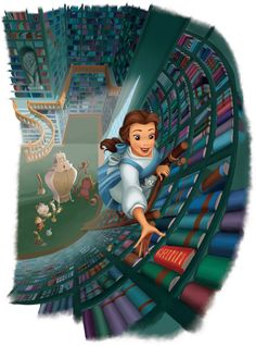 Books and belle!!
