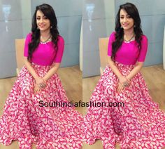 Trisha Krishnan in Long Skirt and Crop Top photo