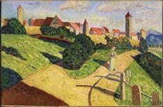 Ciudad Antigua II' (1902) - Kandinsky
