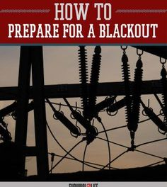 Blackout: How Did This City's Lights Stay On?   Doomsday Prepping Ideas and Tips by Survival Life http://survivallife.com/2015/05/06/blackout-lights-stayed-on/