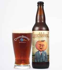Now Sampling: Cannery Brewery Company's Knucklehead Pumpkin Ale… Beer Maker, Malt Beer, Pumpkin Beer, Beer 101, Beers Of The World, Beer Packaging, Wine And Liquor, Brew Pub, Fall Food