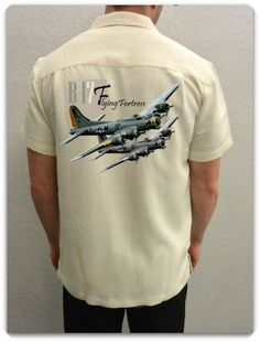 Airplane Shirt B-17 Bomber | Spoke N Wheelz