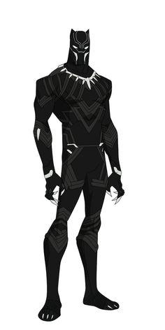 Black Panther Civil War by shorterazer.deviantart.com on @DeviantArt - Visit to grab an amazing super hero shirt now on sale!