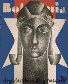 La portada de Bohemia en 1940 | Alegoría de la República de Cuba (1902-1958)