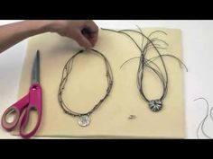Antelope Beads - Using a Coil Knot to Finish a Multi Strand Necklace Tutorial Video - YouTube