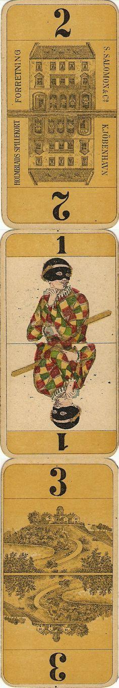 Scandinavian Tarock Deck, late 1800's.