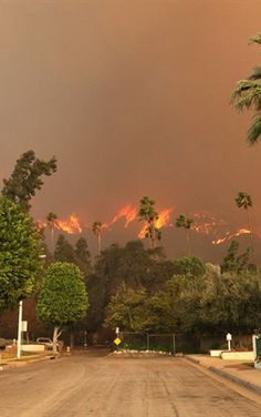Incendio en California #Incendio #Fire ~Via Sergio Mancisidor 01
