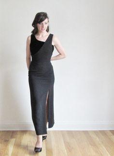 velvet armani gown