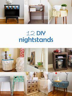 Ohoh Blog - diy and crafts: DIY Monday # Nightstands