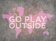 Hey, I found this really awesome Etsy listing at http://www.etsy.com/listing/113341047/gray-and-pink-art-wanderlust-poster