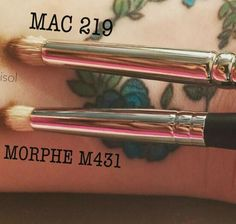 MAC 219 dupe,Morphe M431. By @Dupethat