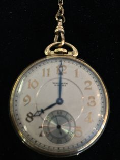 Vintage Waltham Gold Pocket Watch by CoinOccasion on Etsy, $799.99