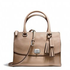 Coach  LEGACY HARPER SATCHEL IN LEATHER