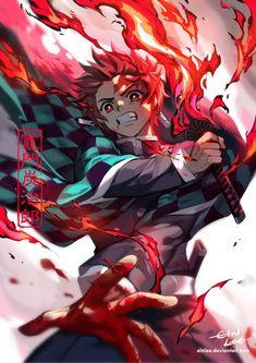 tanjiro pic fan-art wallpaper by wickedssjgod - a6 - Free on ZEDGE™