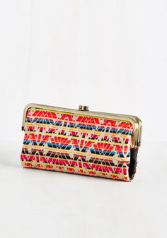 Bestie Unto You Clutch in Rainbow - Multi, Global, Casual, Neon, Festival, Spring, Better, Saturated