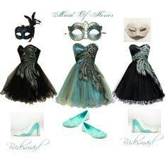Bridesmade dresses  (masquerade wedding )