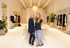God Save the Queen and all: Mary-Kate y Ashley Olsen abren Elizabeth & James  ... #marykateolsen #ashleyolsen #elizabethandjames #flagshipstore #open #losangeles