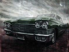 """Valerio D'Ospina, """"Classic Car""""  http://www.mikewrightgallery.com/valerio-dospina.html"""