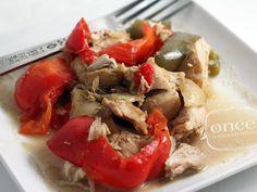 Slow Cooker Paleo Thai Chicken - whole30, freezer meal, oamc, crockpot