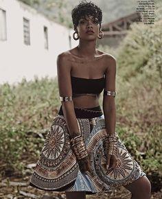 Rihanna Vogue Brasil 2014