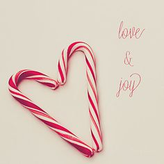 Candy Cane Photography  Heart  Love and Joy  by TheTinOwl on Etsy