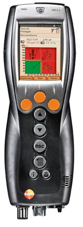 The testo 330-2G LL has the longest service life available in a combustion analyzer. Improved materials and construction details provide you with reliability and the lowest cost-of-ownership. It comes with the longest warrantee in the market with an expected sensor life span of up to 6 years (O2 and CO sensors). Rest assured the testo 330-2G LL is an essential tool for combustion analysis