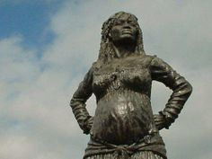 This is a statue of an African woman in Venezuela named Solitude. She is always remembered as a fierce and fearless warrior, expertly wielding a machete against the French troops. She was captured and sentenced to death, but because she was pregnant; she could not be put to death. She was executed after she gave birth on November 29, 1802. Solitude's story illustrates the too often forgotten role of women in the struggle against slavery.