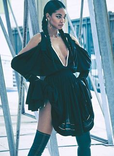 ☆ Chanel Iman | Photography by James Macari | For Marie Claire Magazine UK | May 2015 ☆ #Chanel_Iman #James_Macari #Marie_Claire #2015